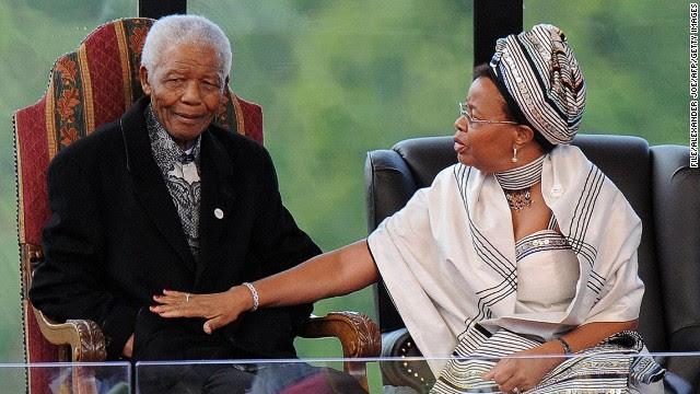 Mandela's children, staff inherit in will   Elle News post