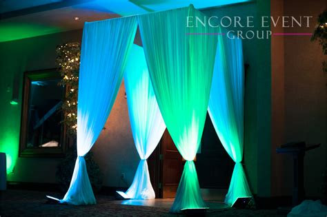 main door entrance draping crystal gardens southgate
