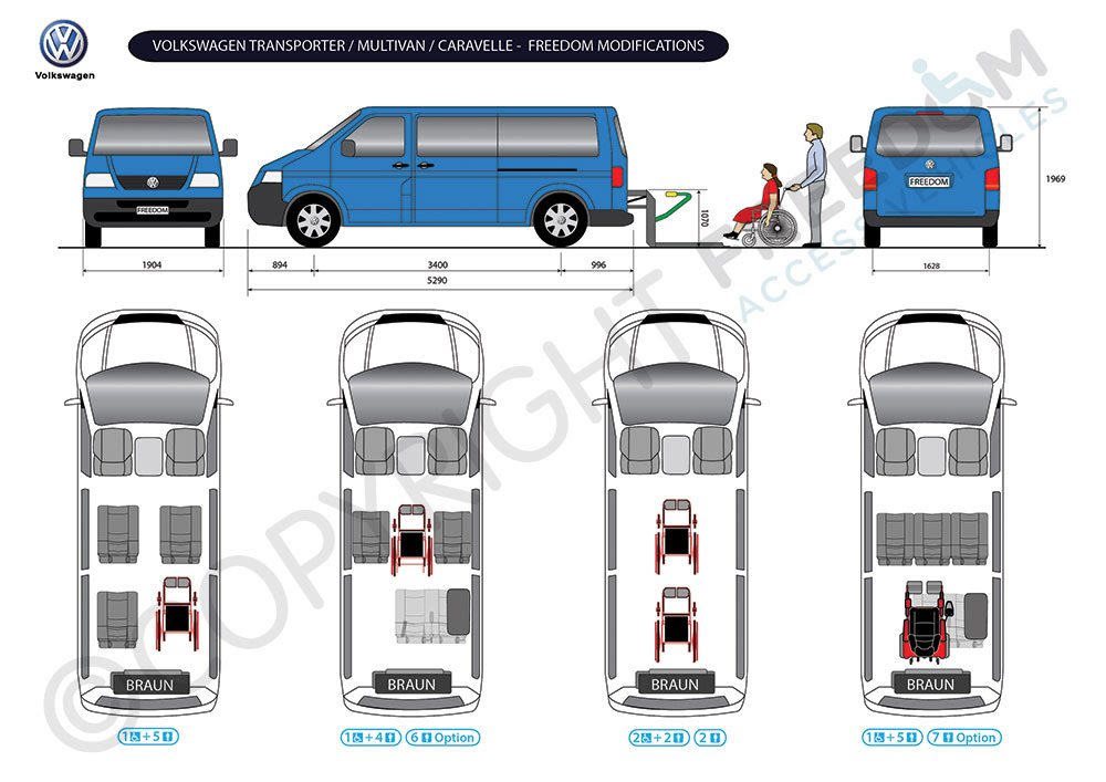 Wheelchair Access Vehicle Conversions Volkswagen