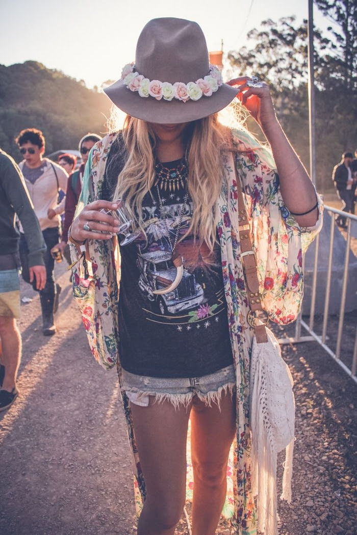 how to dress like a summer music festival fashionista