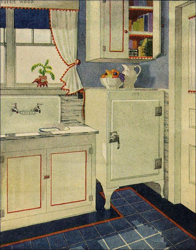 1920s Kitchen on Pinterest - 1920s Kitchen, Hoosier ...