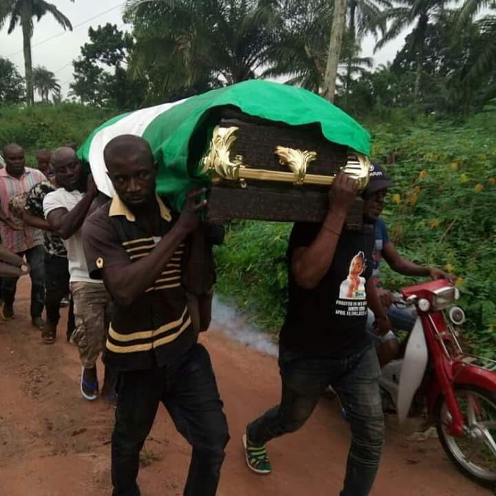 The Female Corper Shot By Policeman In Abuja, Finally Buried In Anambra (Photos)