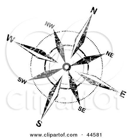 how to draw a compass rose in photoshop