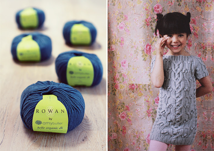 Rowan yarn and dress
