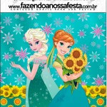 Mini Pastilha Docile Frozen Fever Cute