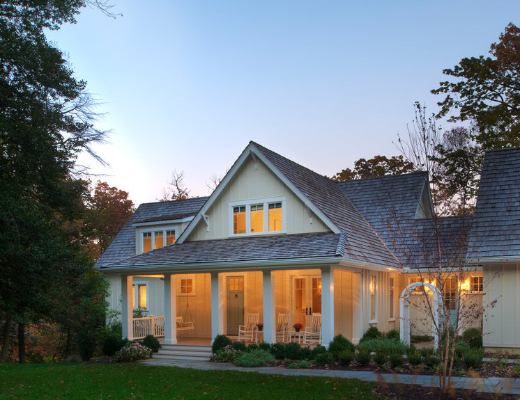 Beach Style Exterior by Barnes Vanze Architects, Inc