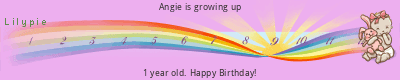 Angie is growing up