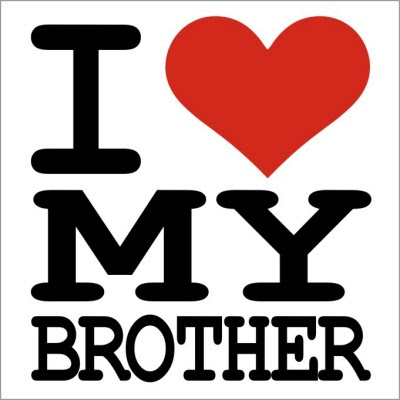 I Love My Brother T Shirt