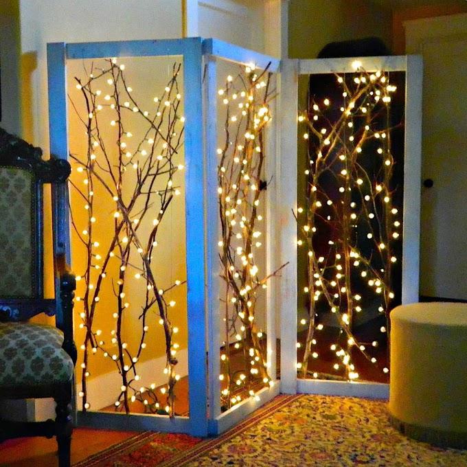 Διακόσμηση μέσα στο σπίτι με φωτάκια Led και μετά τις γιορτές. Ιδέες!