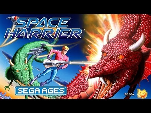 Sega Ages Space Harrier Review | Gameplay