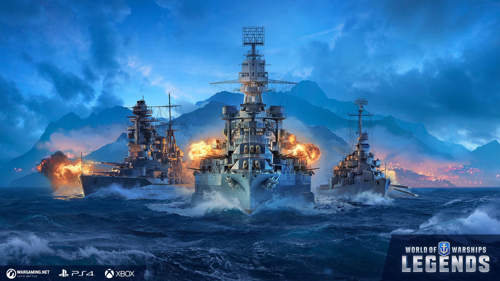 World Of Warships Legends Sets Course For Early Access Stg