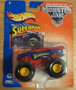 Amazon.com: Hot Wheels Monster Jam Superman Monster Truck ...