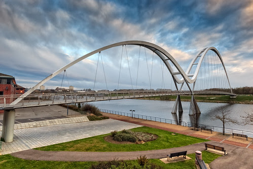 Infinity Bridge by Peter Whysall