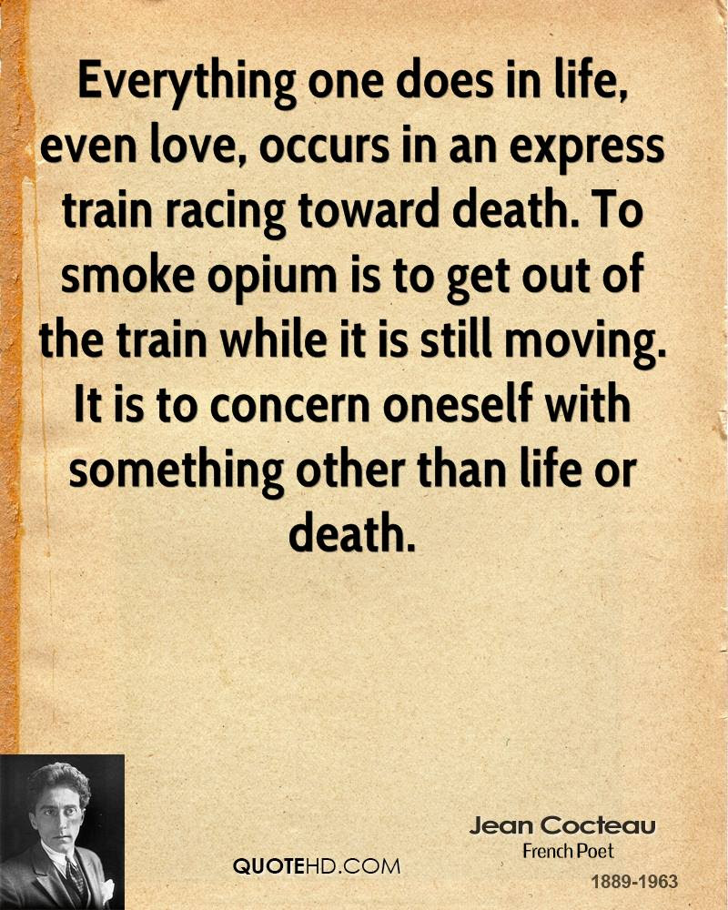 Jean Cocteau Death Quotes Quotehd