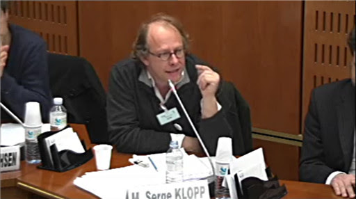 *Video:intervention de serge kloop