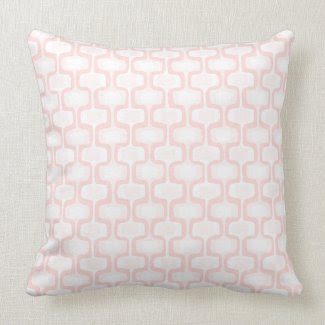 Pink Pattern Pillow throwpillow
