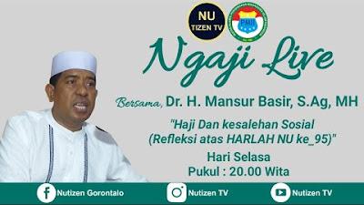 Lagi, Haji dan Kesalehan Sosial Bersama Ustadz Mansur Basir