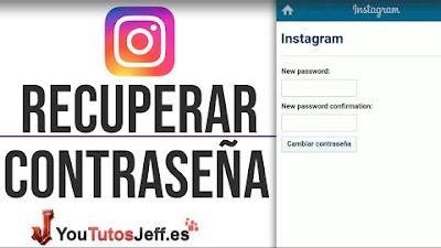 Como Recuperar Contraseña de Instagram 2019
