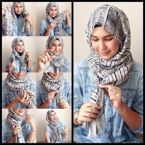 Model Hijab Pashmina Casual - Hijab Top Tips