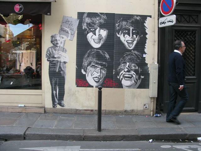 Rue du Seine street art