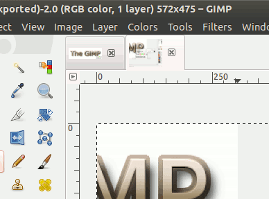 La nueva barra de imagen