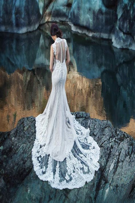 ambrosia lace back.   Wedding ideas   Pinterest   Wedding
