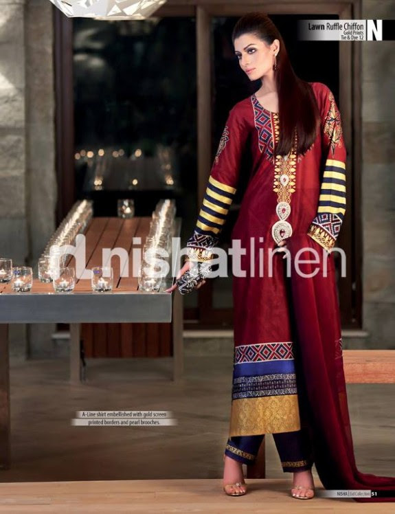 Nisha-New-Eid-Lawn-Summer-Lawn-Prints-Suits-Latest-Collection-2013-by-Nishat-Linen-10