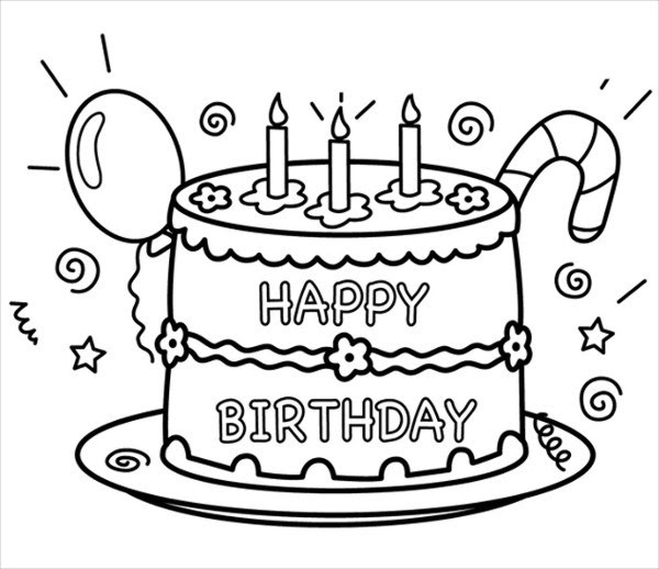 Barbie Birthday Coloring Pages at GetColorings.com | Free ...