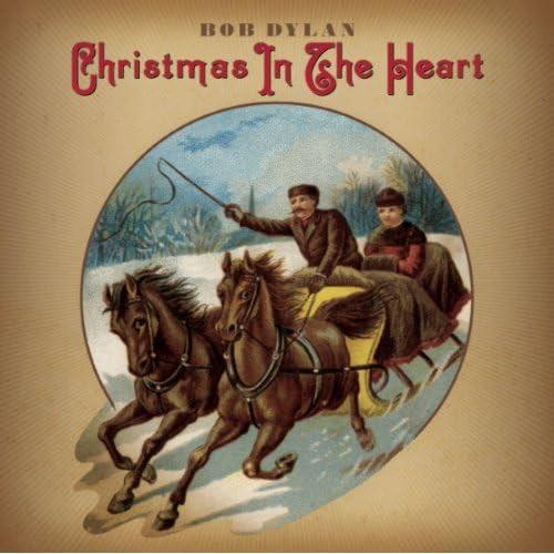 Imagen de la portada del nuevo disco de Bob Dylan «Christmas In The Heart»