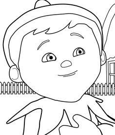 elf ears coloring page at getcolorings  free