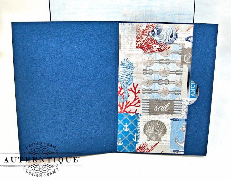 Nautical Themed Graduation Cards Seafarer by Kathy Clement Product by Authentique Photo 11