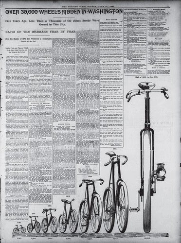 Cycling Growth in DC, 1896