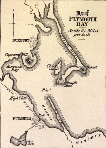 Plymouth Bay Map