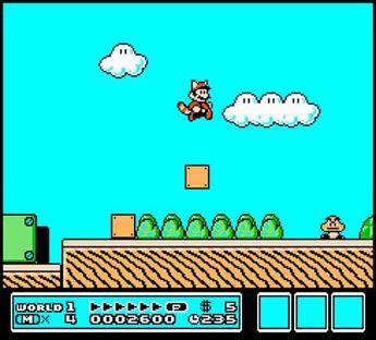 Super Mario Bros. 3.