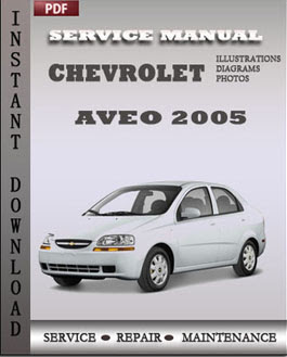 Chevrolet Aveo 2005 Service Manual Download Servicerepairmanualdownload Com