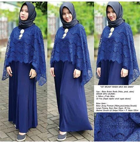 jual baju muslim setelan gamis seragam pesta dress