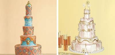 A Summer Picnic Wedding: Cakes in all their glory!