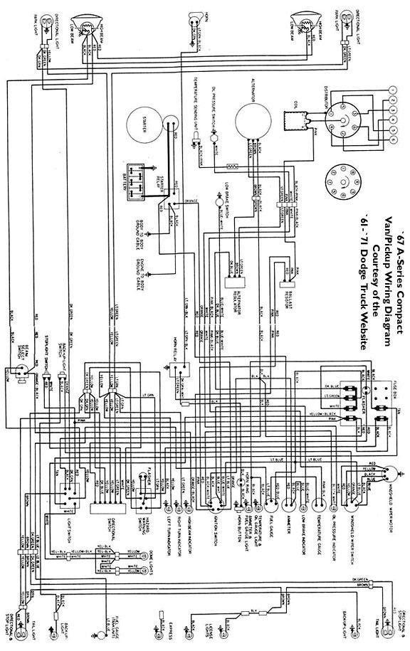Electricals 61 71 Dodge Truck Website