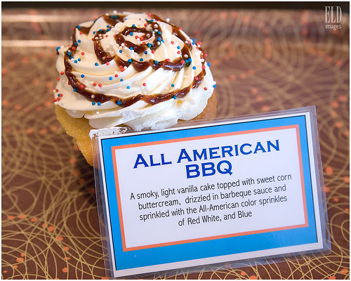 All American BBQ - Heavenly Cupcake