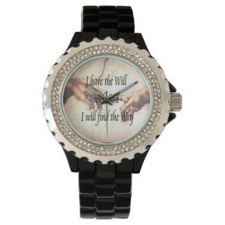 Will Gods Way Wrist Watches