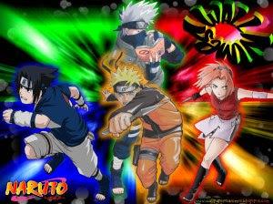 Wallpaper Naruto Sasuke Sakura E Kakashi