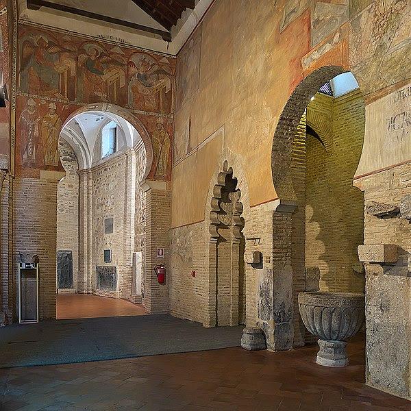 File:Iglesia de San Román (Toledo). Nave de la Epístola, pinturas.jpg