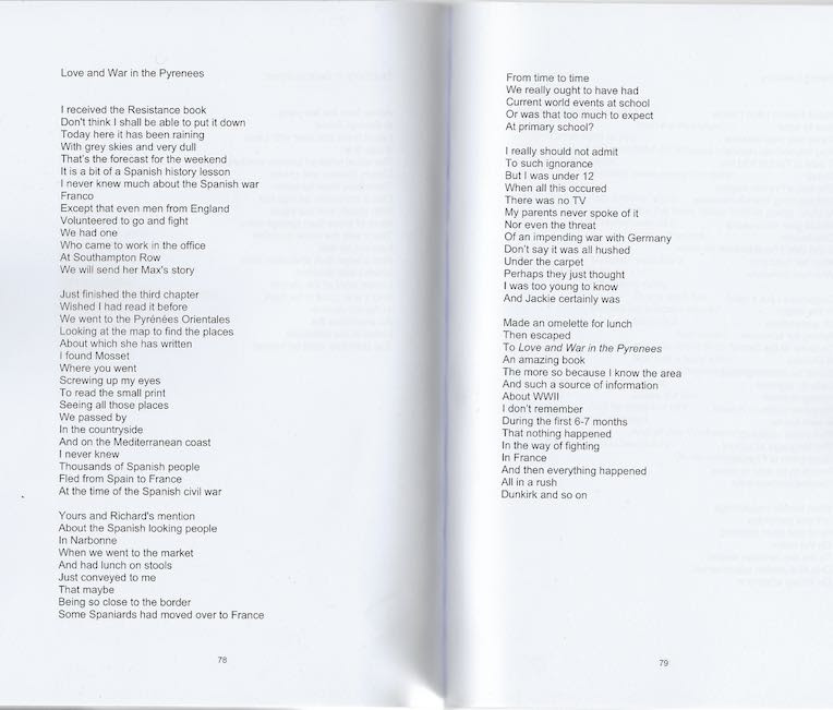 Love And War In The Pyrenees The Poem Rosemary Bailey
