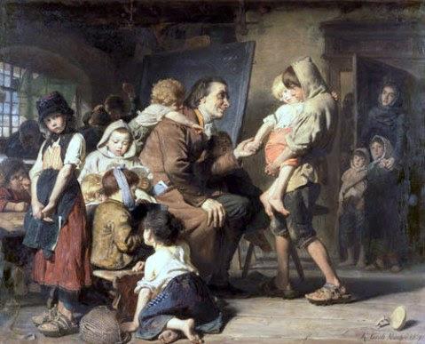 Pestalozzi With The Orphans