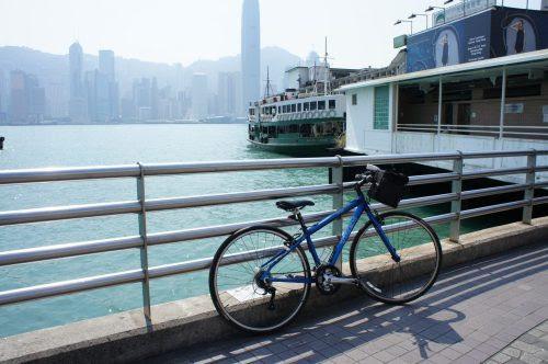 尖沙咀の Star Ferry 乗り場