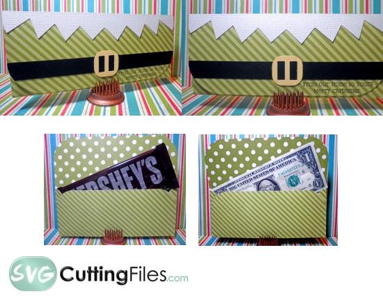 Download Elf Money Holder SVG Cutting File