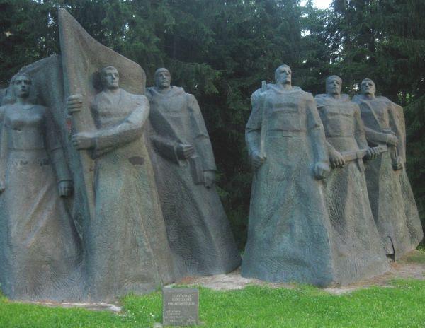 Monomento Soviético na Lituânia