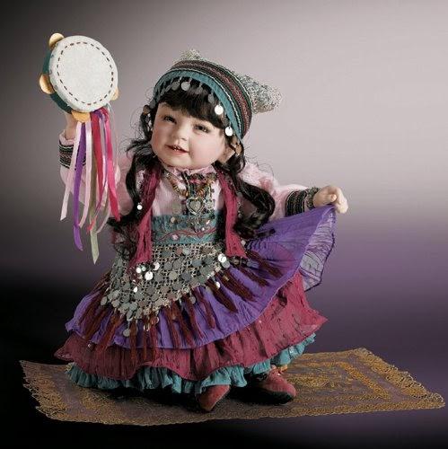 Baby Dolls Blog Retired Rare Beti Gypsy 2009 Limited