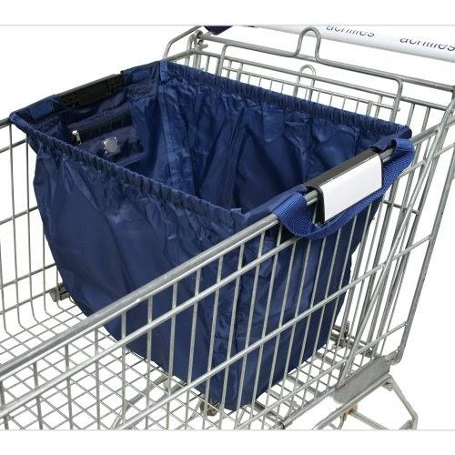 Sacs de courses et cabas: achille, Easy-Shopper norme sac pliable caddie avec pièce chariot et ...