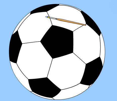 futbol topu boyama oyunu futbol oyunlari
